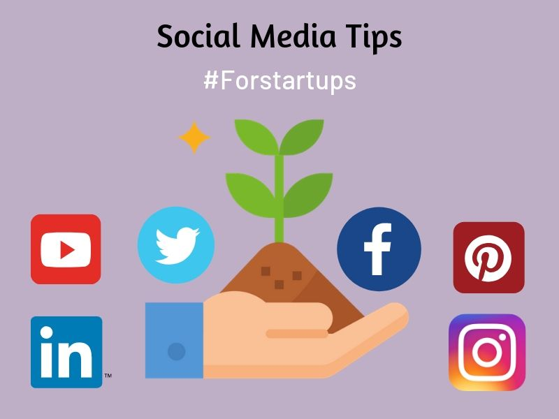 social media tips for startup