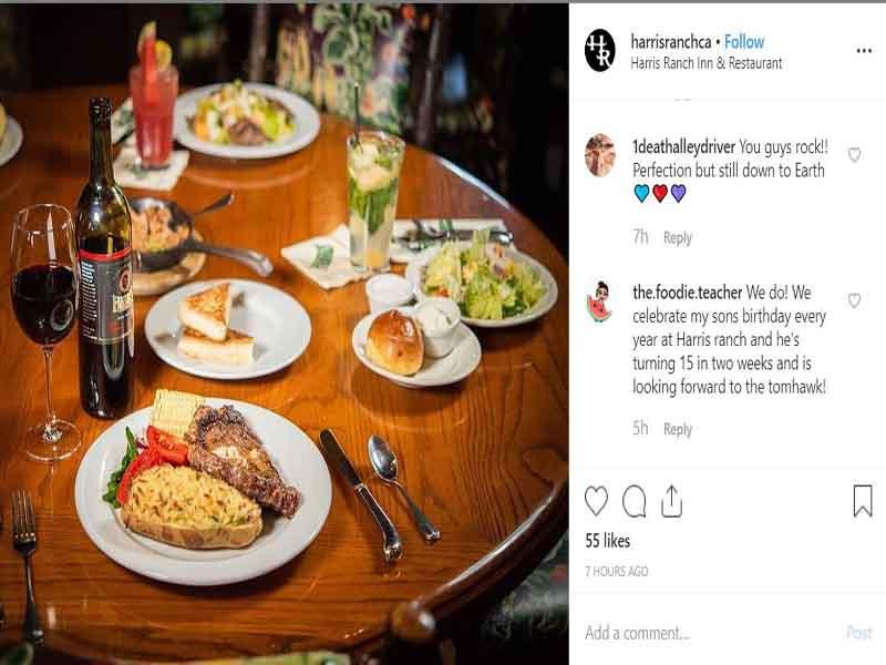 instagram SEO for restaurants