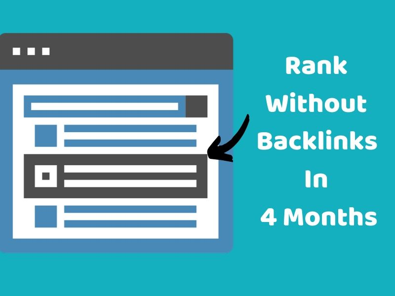 rank without backlinks